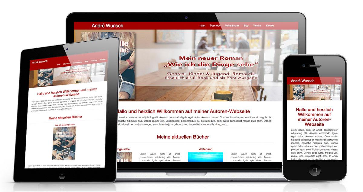 Deine eigene Autoren-Website von authorsbook.de