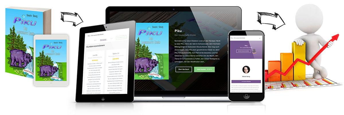 Steigere die Verkäufe deines Buches mit einer eigenen Buch-Webseite